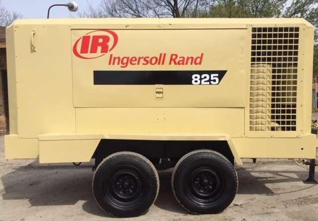 Used Ingersoll Rand XP825WCU Diesel Air Compressor