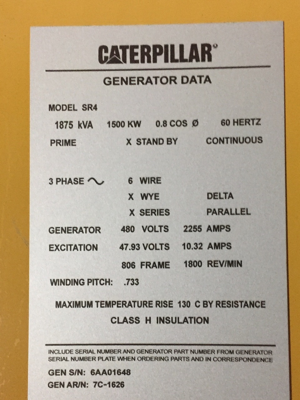 Natural Gas Powered Generator | Caterpillar 3516