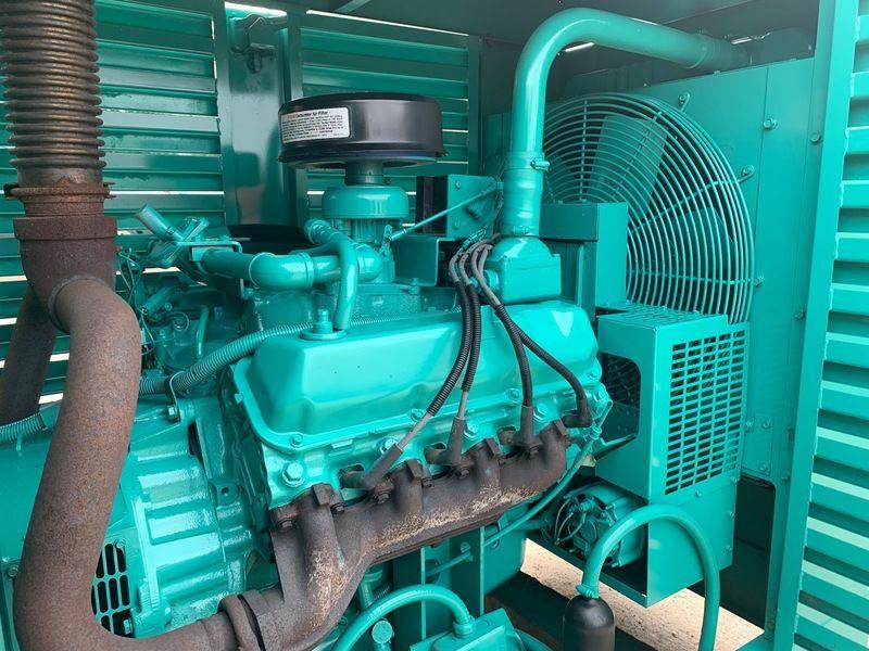 Used Cummins Onan 60ENA Gas Generator 60 F970640341