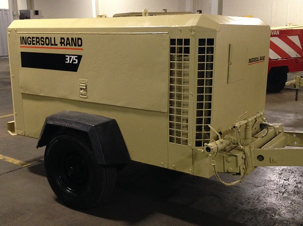 Explore Salient Features of Ingersoll-Rand 375 Portable Air Compressor